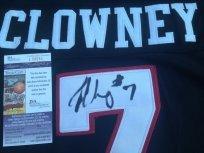 Jadeveon Clowney signed South Carolina USC Gamecocks black jersey JSA COA