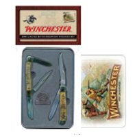 Winchester 22-41269 Limited Edition Sheephorn Stockman Set With Label Pin