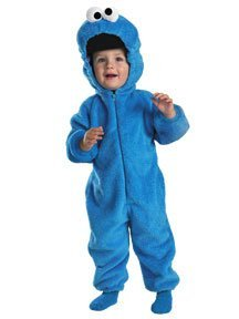 Seasame Streets Cookie Monster Deluxe Costume