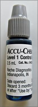Cheap ACCU-CHEK AVIVA CONTROL SOLUTION 1 EACH (NOTE: ***Only 1 Vial of Solution***)