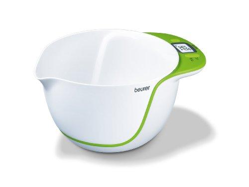 Beurer KS53 Balance de Cuisine Electronique avec Bol Mélangeur