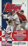 2004 Topps Rookie & Traded Baseball Cards Hobby Box (24 packs/box)