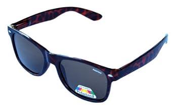 QLook Polarized Wayfarer Style Sunglasses - Tortoise