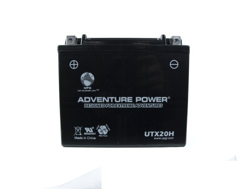 UPG UTX20H Adventure Power Power Sport AGM Series Sealed AGM Battery