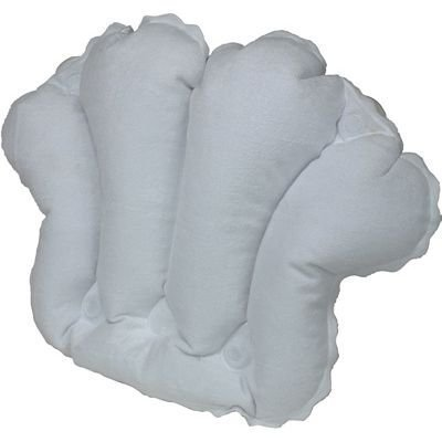 Kingsley Terry Covered Inflatable Bath Pillow White
