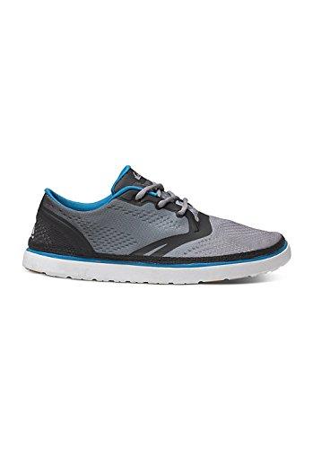 Quiksilver Quiksilver Herren AG47 Amphibian Shoes - Scarpe da Ginnastica Basse Uomo, Nero (Black/White/Blue XKWB), 43 EU
