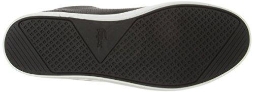 Lacoste Women's Straightset 316 1 Caw Fashion Sneaker, Black, 8.5 M US