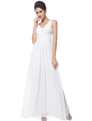 He08110Wh06, White, 4Us, Ever Pretty Formal Dresses For Women Evening 08110
