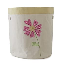 The Little Acorn Natureland Fairies Flower Toy Storage Bin