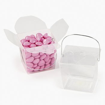 Clear Takeout Boxes - Favor Containers (1 dz)
