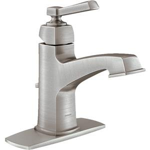 Boardwalk Spotresist Brushed Nickel Lavatory Faucet Home Improvement