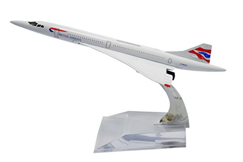TANG DYNASTY(TM) 1:400 16cm Concorde British Airways Metal Airplane Model Plane Toy Plane Model (British Airways Model compare prices)