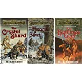 THE ICEWIND DALE TRILOGY - Book (1) One: The Crystal Shard; Book (2) Two: Streams of Silver; Book (3) Three: The Halfling's Gem (Forgotten Realms)
