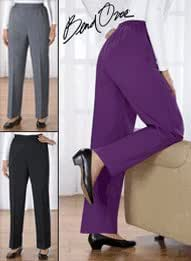 Bend Over Pants - Women's Sizes, Color Purple, Size 18 W