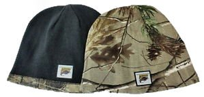 NCAA Officially Licensed North Dakota Bison Realtree Camo Reversible Beanie Hat