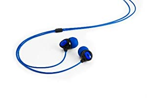 H2O Audio IE2-BK Surge 2G Waterproof Sport In-Ear Headphones (Black/Blue) (Discontinued by Manufacturer)
