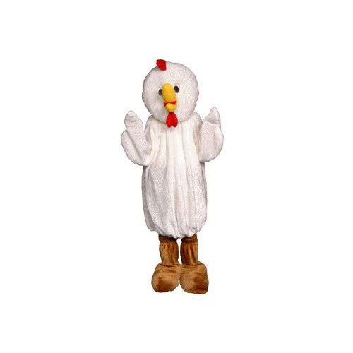 Chicken Mascot Adult Costume Size Standard
