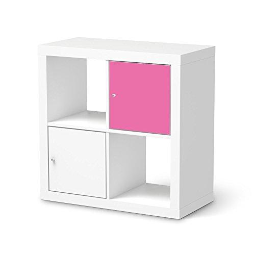 Mbeltattoo-fr-IKEA-Kallax-Regal-1-Trelement-Mbeltattoo-Klebefolie-Sticker-Aufkleber-Mbel-renovieren-Home-und-Style-Schlafzimmer-Dekomaterial-Farbe-Pink-2