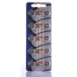 50 Pack Maxell LR44 AG13 357 button cell battery 