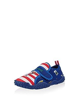 Playshoes Calzado de baño UV (Rojo / Blanco)