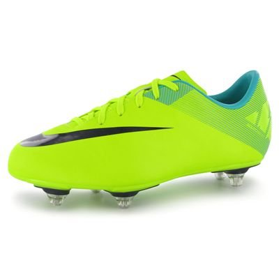 Nike Mercurial Victory II SG Junior Football Boots Voltage/Purple 3 UK UK