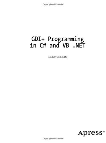 Download book from google GDI+ Programming in C# and VB.Net by Nick Symmonds