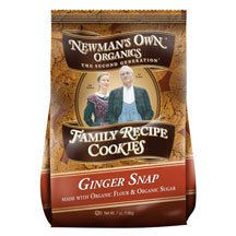 Newmans Own Organics Ginger Snap Cookie, 6.5 Ounce -- 6 per case.