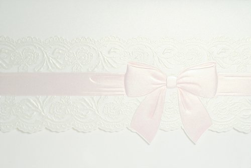 Ribbon & Lace Baby Shower Invitations - Set Of 20 front-1041985