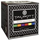 Talbott Teas Sachet Assortment (12 Pack-6 Flavors- 2 Each) Vot-353