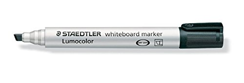 STAEDTLER Lot de 10 Lumocolor Whiteboard marker 351B, noir