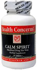 Calm Spirit 90 Tablets by Health Concerns