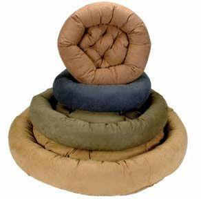 snoozer-luxury-round-bolster-pet-bed-small-suki-buckwheat