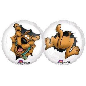 "Peeking Scooby Doo 18"" Mylar  foil birthday party decoration Balloon - 1"
