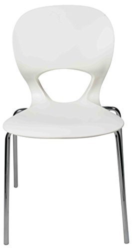 Ventura 130_White Plastic Chair (White)