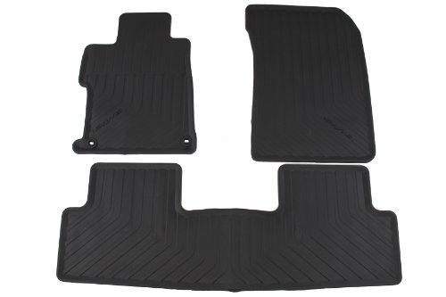 Genuine Honda Accessories 08P13-TR0-110A Black All Season Floor Mat for Select Civic Models (Honda Civic 2013 Lx Accessories compare prices)