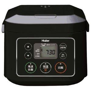 ハイアール マイコンジャー炊飯器(3合炊き) ブラックHaier JJ-M30B(K)