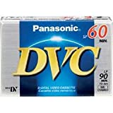 Panasonic NV-DS38 Camcorder 60 Minutes Mini DV Video Cassette - Replacement by Panasonic