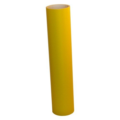 Vinyl Oasis Craft & Hobby Vinyl - Matte Yellow W/ Removable Adhesive - 12 In. X 20 Ft. Roll