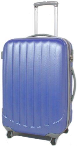 BLAU 360° Rollensystem Reisekoffer Koffer Trolley