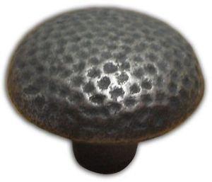 Siro Medium Knob - Iron Antique Pewter Effect - 6 by New A-Brend