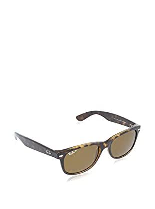 Ray-Ban Gafas de Sol Polarized 2132 _902/57 NEW WAYFARER (55 mm) Marrón Medio