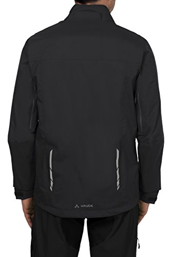 VAUDE Herren Jacke Mens Tiak Jacket, Black, XL, 03886 -