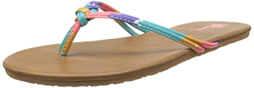 Volcom Forever 2 Sndl, Infradito donna, Multicolore (Mehrfarbig (Glow Light / Glw)), 37