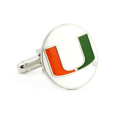 University of Miami Hurricanes Cufflinks