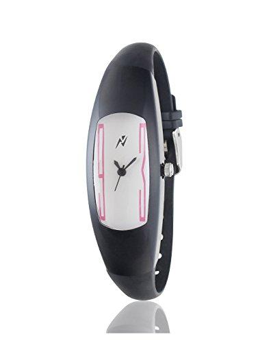 Yepme Women's Silicon Watch – White/Black