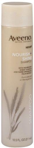 Aveeno Nourish+Shine Shampoo, 10.5 fl ounces  (Pack of 3)