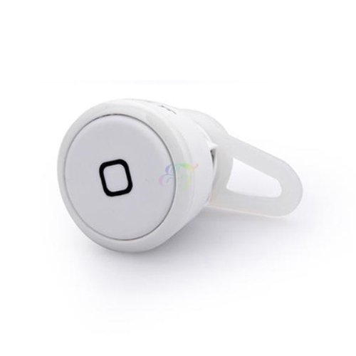 S9Y Mini Wireless Bluetooth Headset Earphone Headphone For Cell Phone Tablet Pc Iphone Samsung Htc White