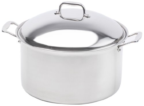 360 Cookware Stainless Steel Stockpot with Cover, 16-Quart (360 Cookware Stock Pot compare prices)