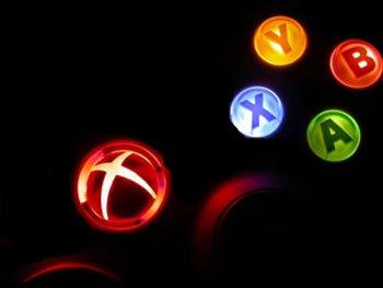 Xbox 360 Controller Mod Set - Ring of Light,