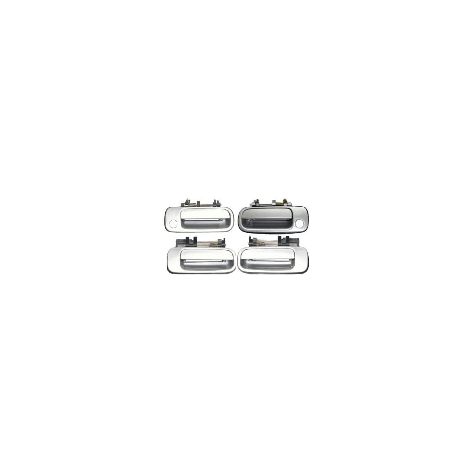 #DS41 Motorking Toyota Camry Silver 176 Replacement Set 4 Outside Door Handles